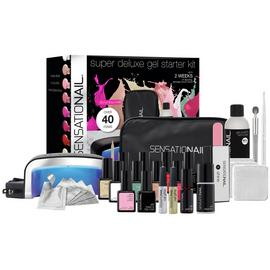 SensatioNail Gel Nail Polish Deluxe Starter Kit