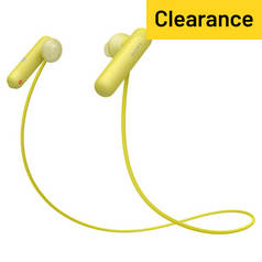 Sony WI-SP500 In-Ear Wireless Sports Headphones – Yellow
