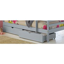 Argos Home Josie Set of 2 Grey Single Drawers