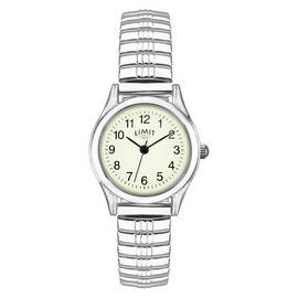 994ce7ef8b0 Limit Ladies  Stainless Steel Glow Dial Expander Watch