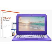 HP Stream 11.6 Inch Celeron 2GB 32GB Cloudbook - Purple
