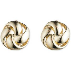 a48f186f5 Anne Klein Gold Colour Knot Stud Clip on Earrings