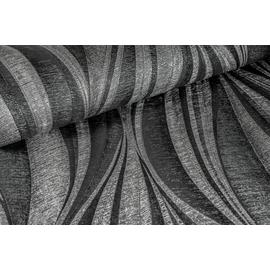 Boutique Tango Charcoal Silver Wallpaper