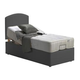 MiBed Newquay Adjustable Single Bed and 1200 Pocket Mattress