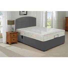 MiBed Berrington Adjustable Double Bed Frame with Guard