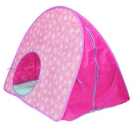 Chad Valley Pink Stars Pop Up Play Tent