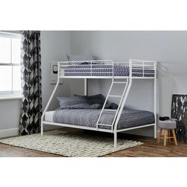 Argos Home Willen White Triple Bunk Bed