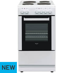 Bush DHBES50W Single Electric Cooker - White