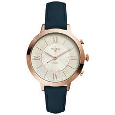 Fossil Q Ladies' Jacqueline Leather Strap Hybrid Smart Watch