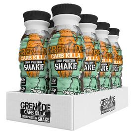 Grenade Carb Killa Chocolate Mint Protein Shake - 8 x 330ml