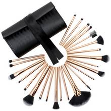 Rio Professional 24 Piece Make-up Brush Set - Rose Gold
