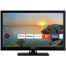 Hitachi 24 Inch 24HB21T65U Smart HD Ready LED Freeview TV