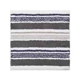 Sainsbury's Home Grey Stripe Shower Mat