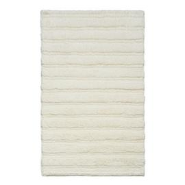 Sainsbury's Home Ribbed Bath Mat - White