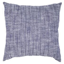 Argos Home Chambray Quilted Cushion