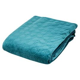 Argos Home Green Velvet Throw