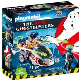 Playmobil 9388 Ghostbusters Stantz with Skybike/t