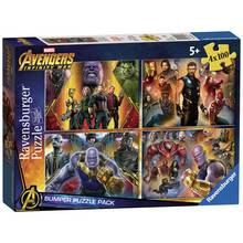 Ravensburger Marvel Avengers 4 x 100 Piece Puzzles