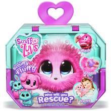 Scruff a Luvs Pink Mystery Rescue Pet Soft Toy