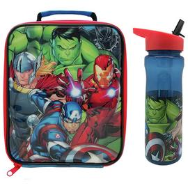 Avengers Classic Lunch Bag & Bottle Set