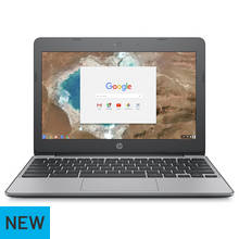 HP Chromebook 11.6 Inch Celeron 4GB 16GB Laptop