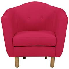 Argos Home Elin Fabric Armchair - Red