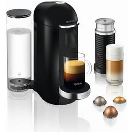 Nespresso Krups Vertuo Plus Pod Coffee Machine Bundle - Blk