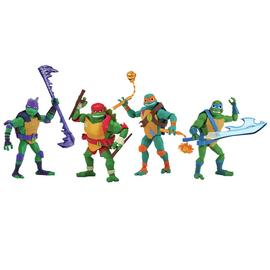Rise of The Teenage Mutant Ninja Turtles 4 Brothers Pack