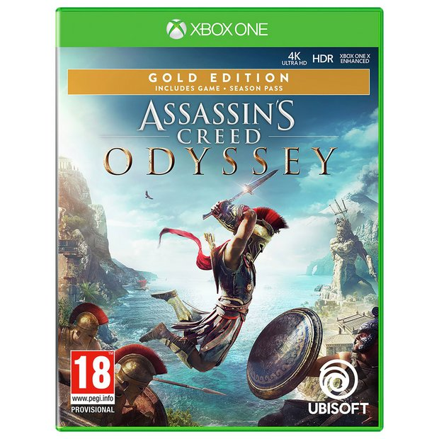Buy Assassin S Creed Odyssey Gold Edn Xbox One Game Xbox One Games Argos