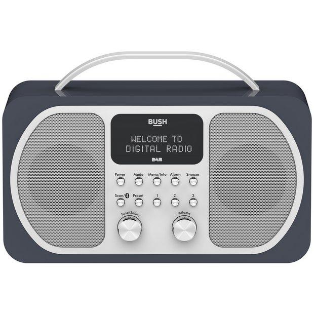 Buy Bush DAB Bluetooth Radio Midnight Blue | Radios | Argos