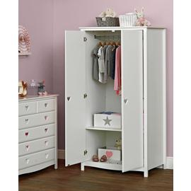 Argos Home Mia 2 Door Tall Wardrobe - White
