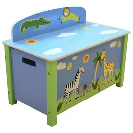 Liberty House Safari Large Toy Box