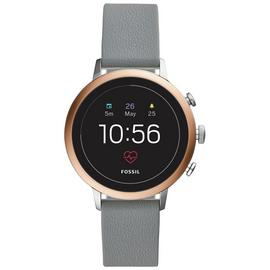 Fossil Venture Gen 4 HR Smart Watch - Grey Silicone