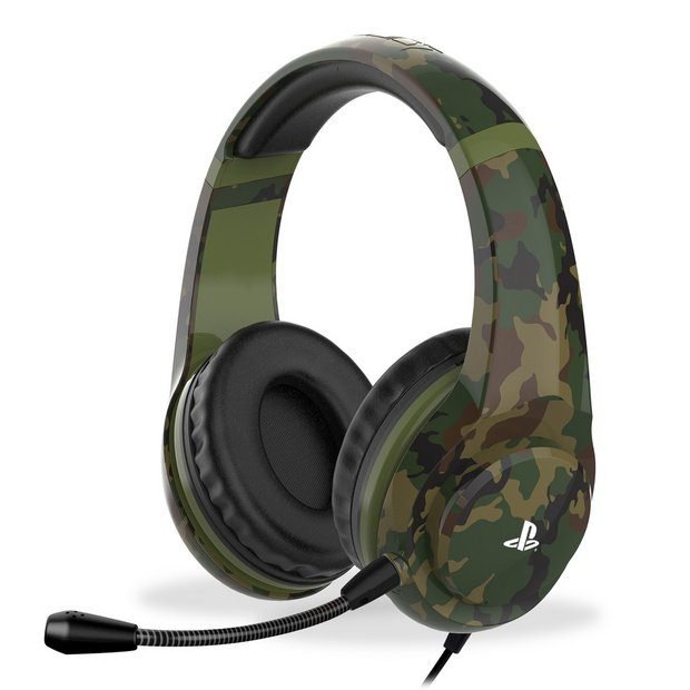Buy 4Gamers PRO4 70 PS4 Headset PS4 Camo | Gaming headsets | Argos