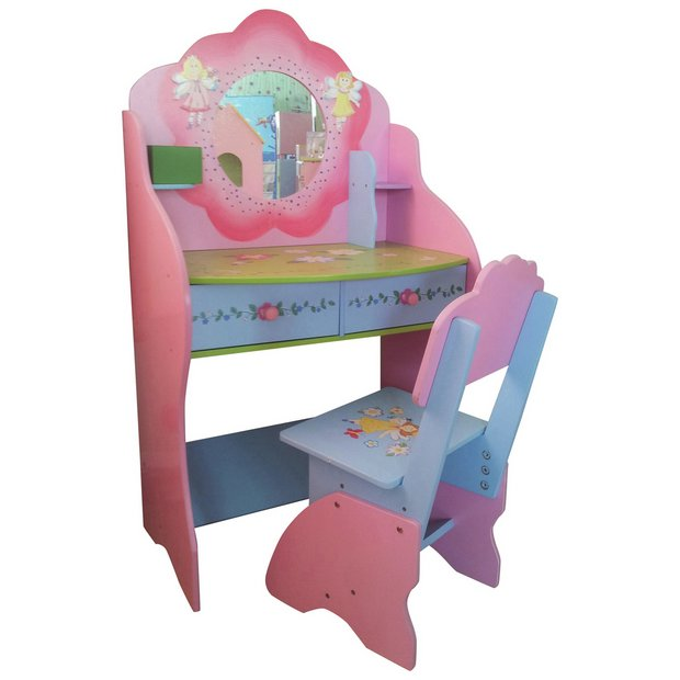 Buy Liberty House Fairy Dressing Up Table & Chair | Kids dressing tables |  Argos