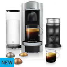 Nespresso Vertuo Plus 11388 Coffee Machine - Silver