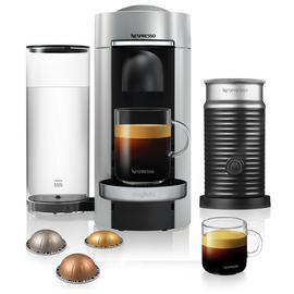 Nespresso by Magimix Vertuo Plus Pod Coffee Machine - Silver