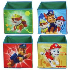 Argos Home Set of 4 Paw Patrol Canvas Boxes