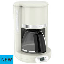 Moulinex FG380A41 Filter Coffee Machine - Ivory