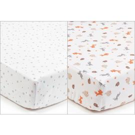 BreathableBaby Standard Cot Sheet