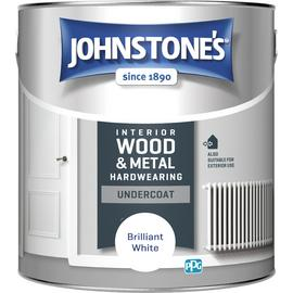 Johnstone's All Purpose Undercoat Paint 2.5 Litre - White
