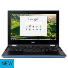 Acer 11.6 Inch Celeron 2GB 16GB Chromebook - Blue