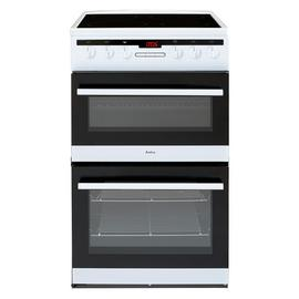Amica AFC5550WH 50cm Double Oven Electric Cooker - White