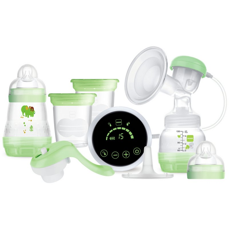 MAM 2-in-1 Single Electric and Manual Breast Pump from Argos