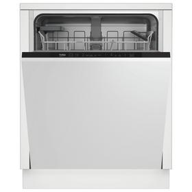 Beko DIN15311 Full Size Integrated Dishwasher - White