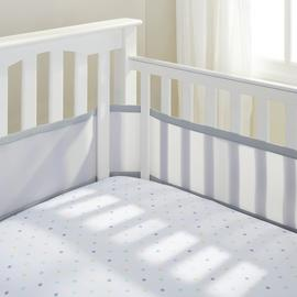 BreathableBaby 4 Sided Grey Mesh Liner