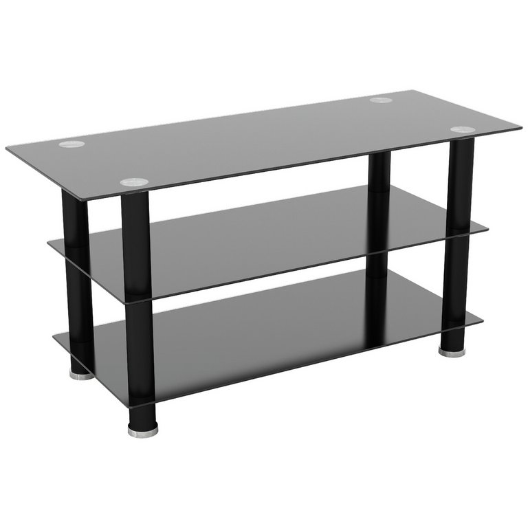 Buy Avf Glass Up To 50 Inch Tv Stand Black Tv Stands Argos