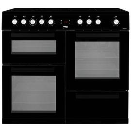 Beko KDVC100K 100cm Electric Range Cooker - Black
