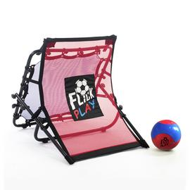 Football Flick Play Mini Skills Training Rebounder Net
