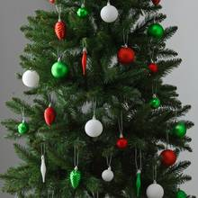 Argos Home 80 Pack of Baubles - Very Merry